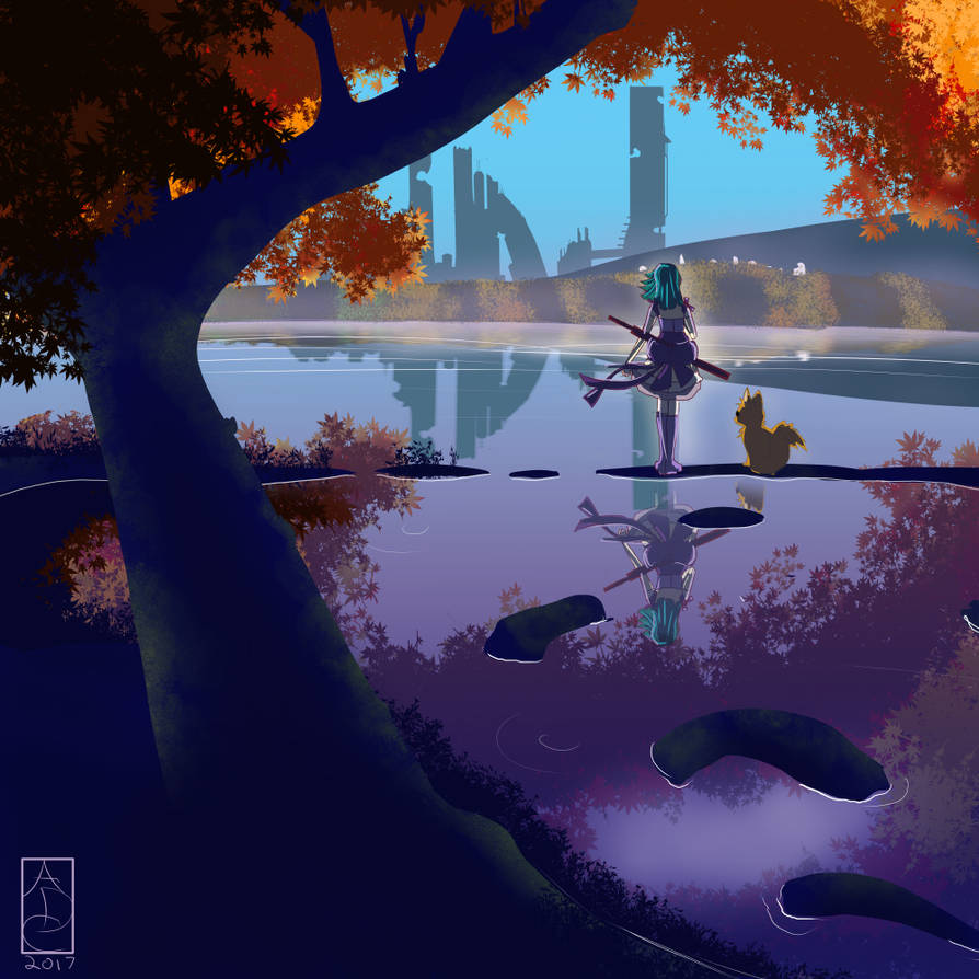 Last Girl Reflection by HexCH
