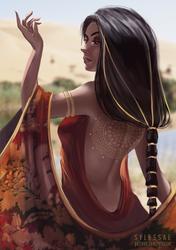 Santhe OC Trade by sylessae