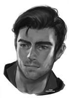 Sorrowsong OC Sketch [Ko-Fi Commission] by sylessae