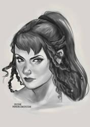 Marianne OC Sketch [Ko-Fi Commission]