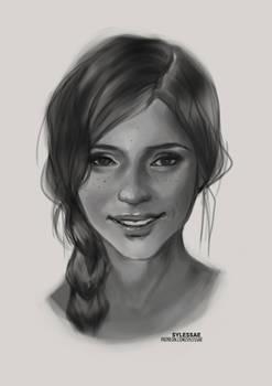 Hannah OC Sketch [Ko-Fi Sketch #98]