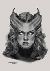 Junequest #9 - Sophia OC Sketch