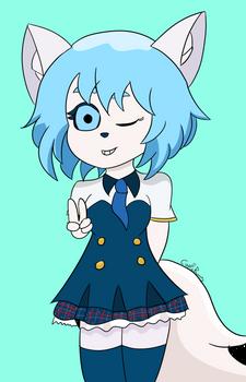 Wolfychu fanart by CopicBunny