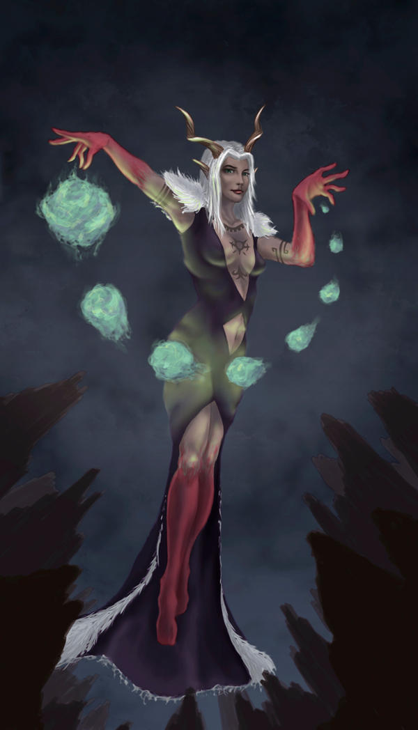 Concept Art - Witch Villain by Charmyto