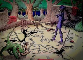 Brazen's First Quest P3 by NeonNeoDragon