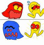 USA Arcade Artwork Pac-Man Intermission 1