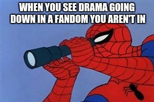 Telescope Spider-Man Meme #1 by 3dmarioworld