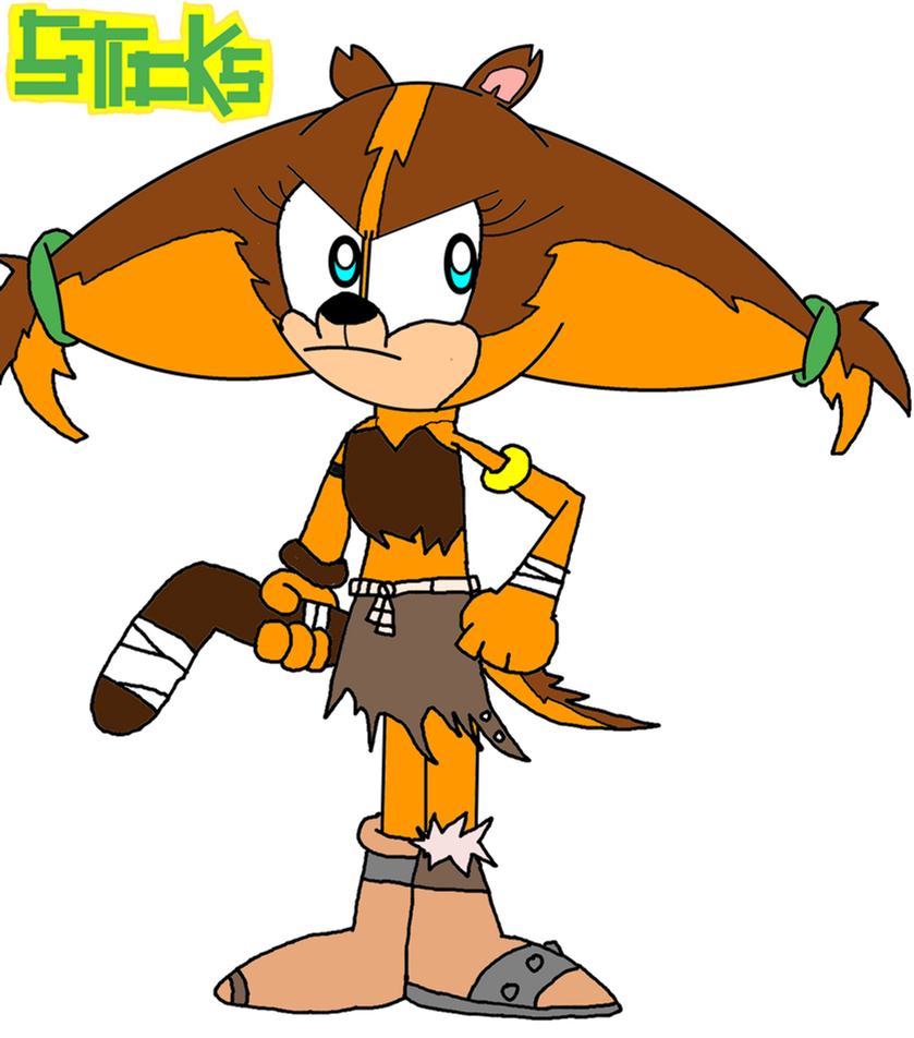 Sonic: Hero of Mobius- Sticks by 3dmarioworld