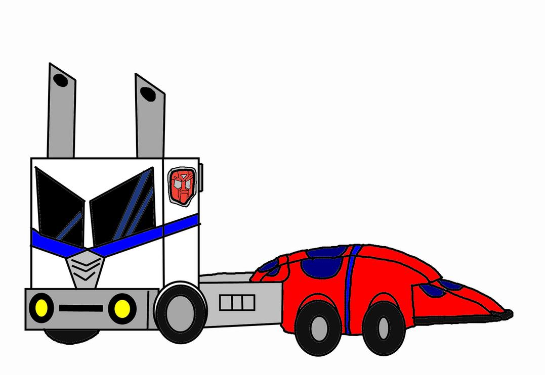 Autobots: Ultra Magnus [Semi-Truck Mode] by 3dmarioworld