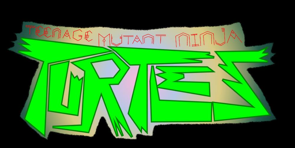 My NEWER TMNT Logo by 3dmarioworld