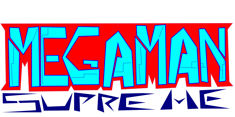 MegaMan Supreme (LOGO) by 3dmarioworld