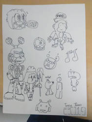 Doodlegeddon 3: The Third One because I don't know by 3dmarioworld