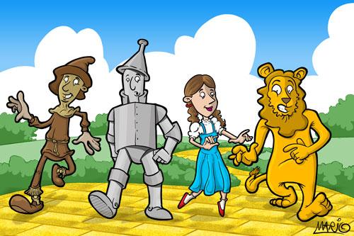 O Magico De Oz By M Moreno On Deviantart