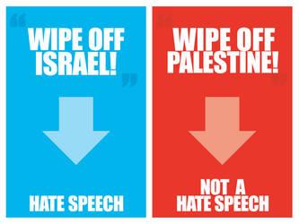 Double Standards by inPalestine