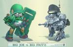 Big Joe vs Big Fritz