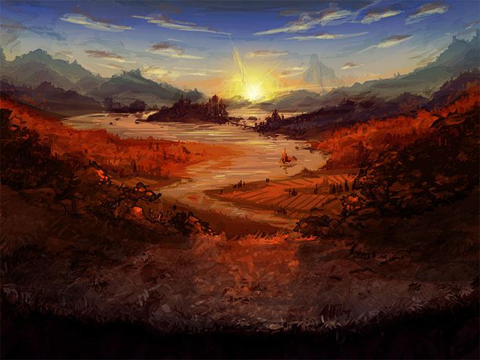 Battle Sunrise by seandunkley