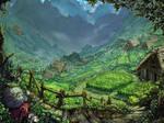 Hamayadani Village - Summer Fields