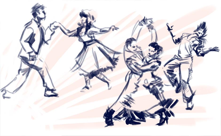Figrues - Dancing by seandunkley
