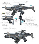 AR-41 Assault Rifle Revisited