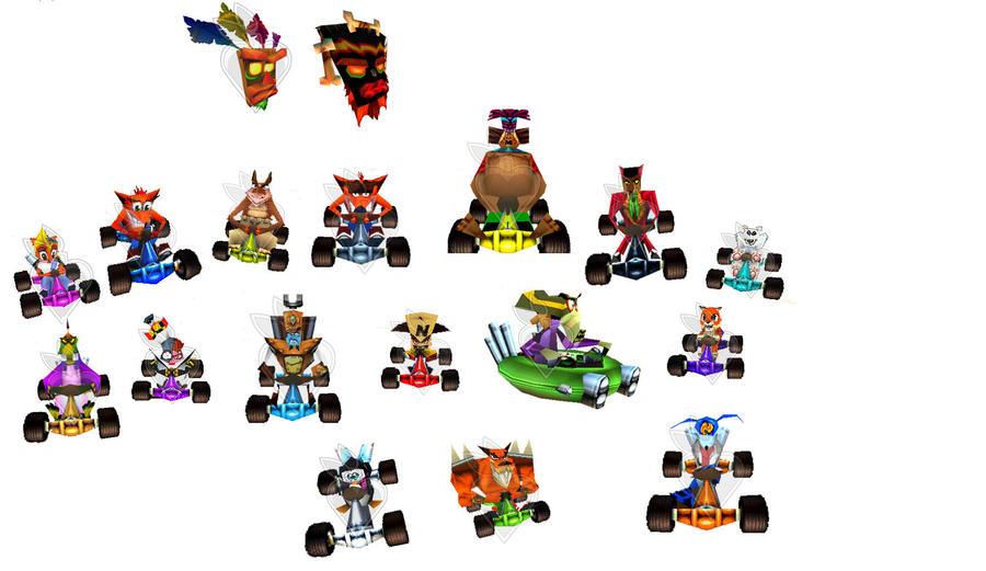 crash team racing by bandicoot9898 on deviantart