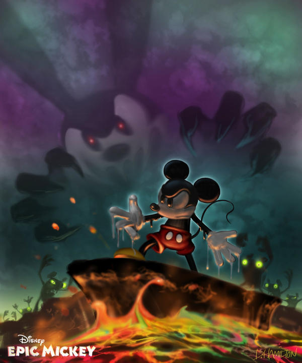 Epic Mickey's powers by Hamilton74