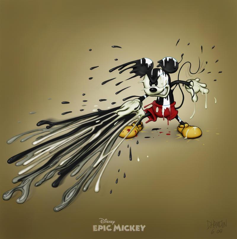 Epic Mickey: Attacking by Hamilton74