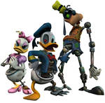 Epic Mickey models- posed