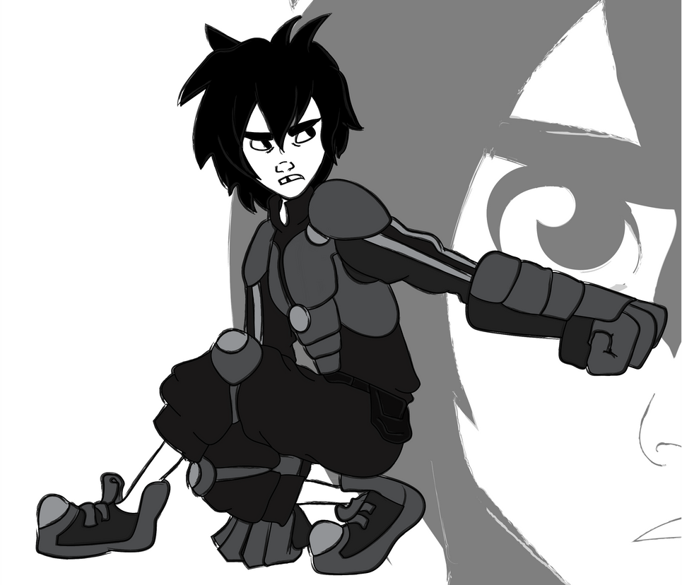 Warriors - Hiro Hamada by cartoonation