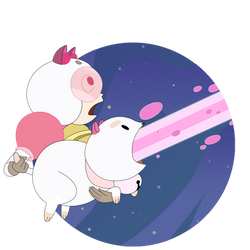 Bee and Puppycat LASER