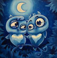 Love Birds by Abeckin