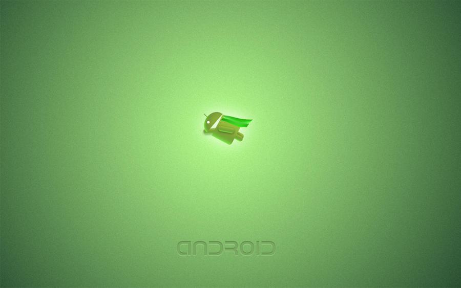Android Flying Wallpaper by TPBarratt