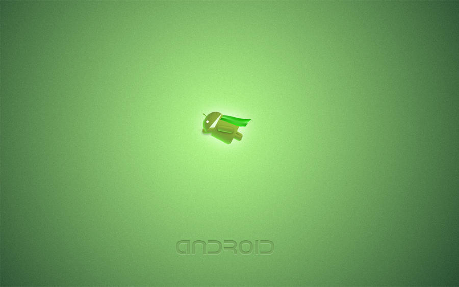 Android Flying Wallpaper