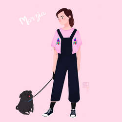 Marzia and Edgar OOTD by VittysArtBox