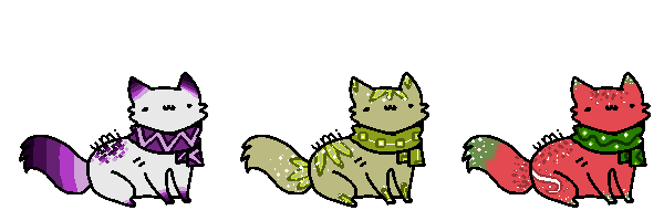 Scarf Adoptable Batch #4 {CLOSED} by SliverGold-Adopts
