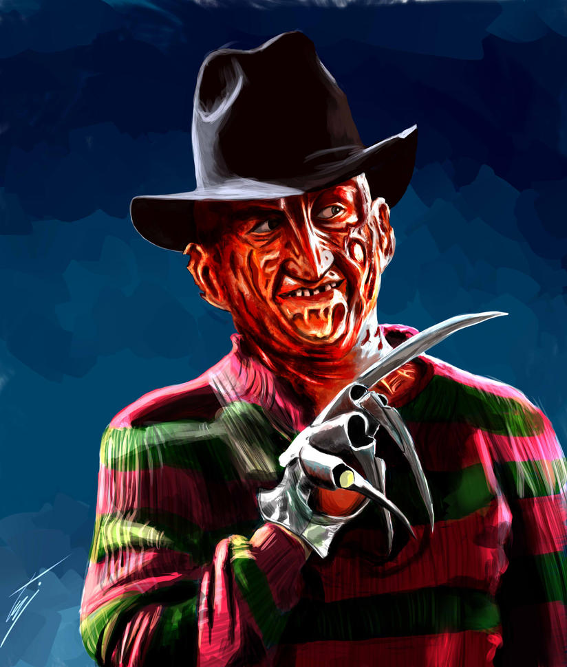 Freddy Krueger digital  by ismahope