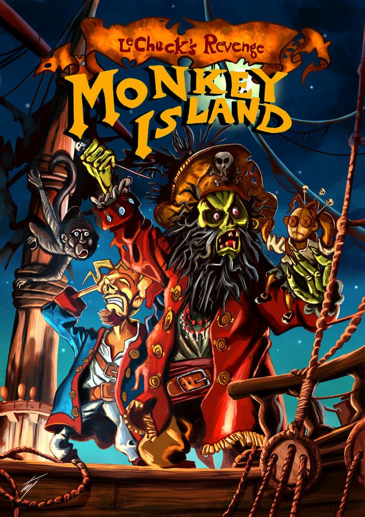 Monkey Island 2 by ismahope