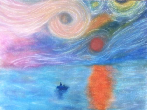 Impression,Sunrise+StarryNight by LancelotAki on DeviantArt