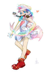 Magical Stomper Sweety Mario REDUX by sukinahito