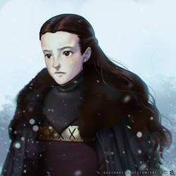 Lady of the Bear Island by sukinahito