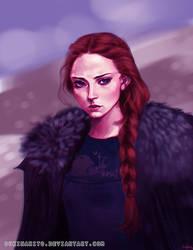 Sansa by sukinahito