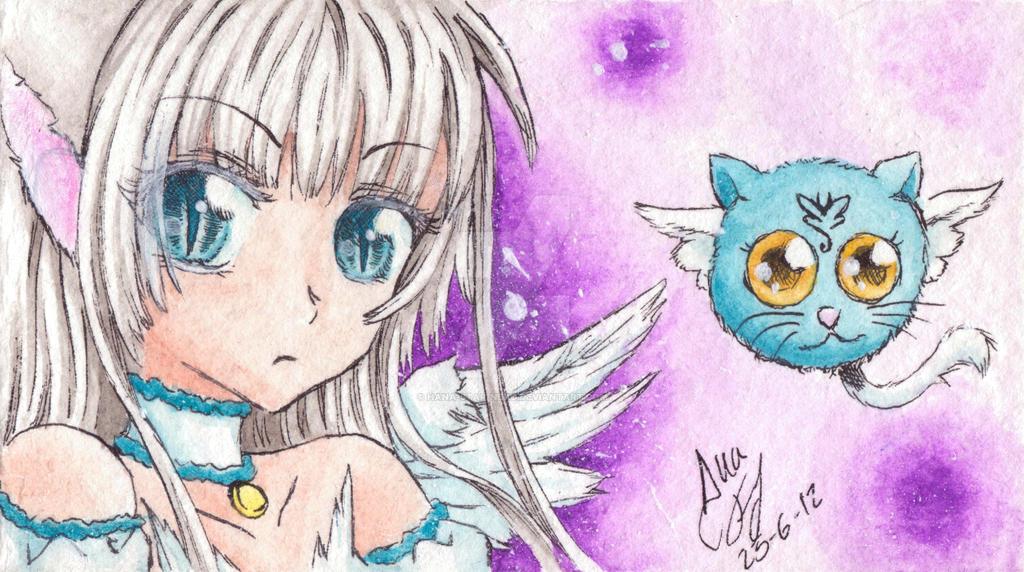 Mew Hana Star with KISS by Hana-Star-Neko