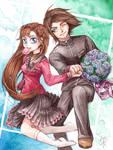 School romance by Hana-Star-Neko