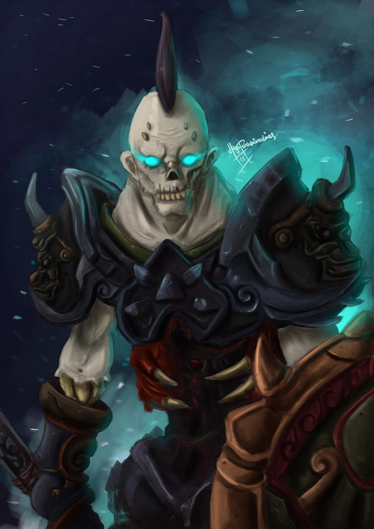 Undead Frost DK by BegundalNgastina on DeviantArt