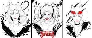 Gotham city sirens by BegundalNgastina