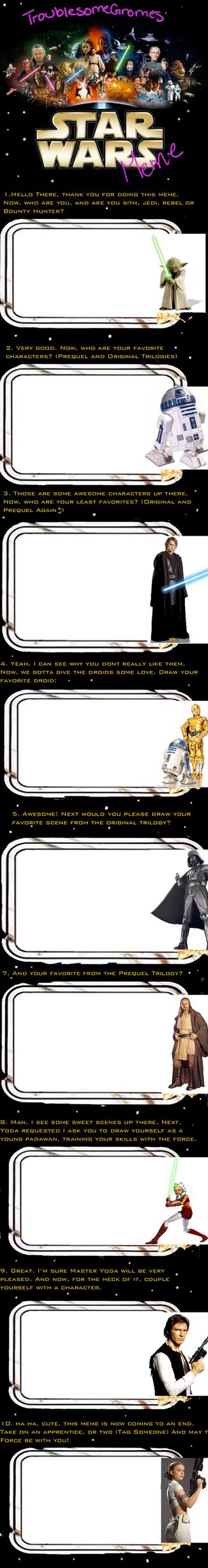 Blank Star Wars Meme by TroublesomeGnome