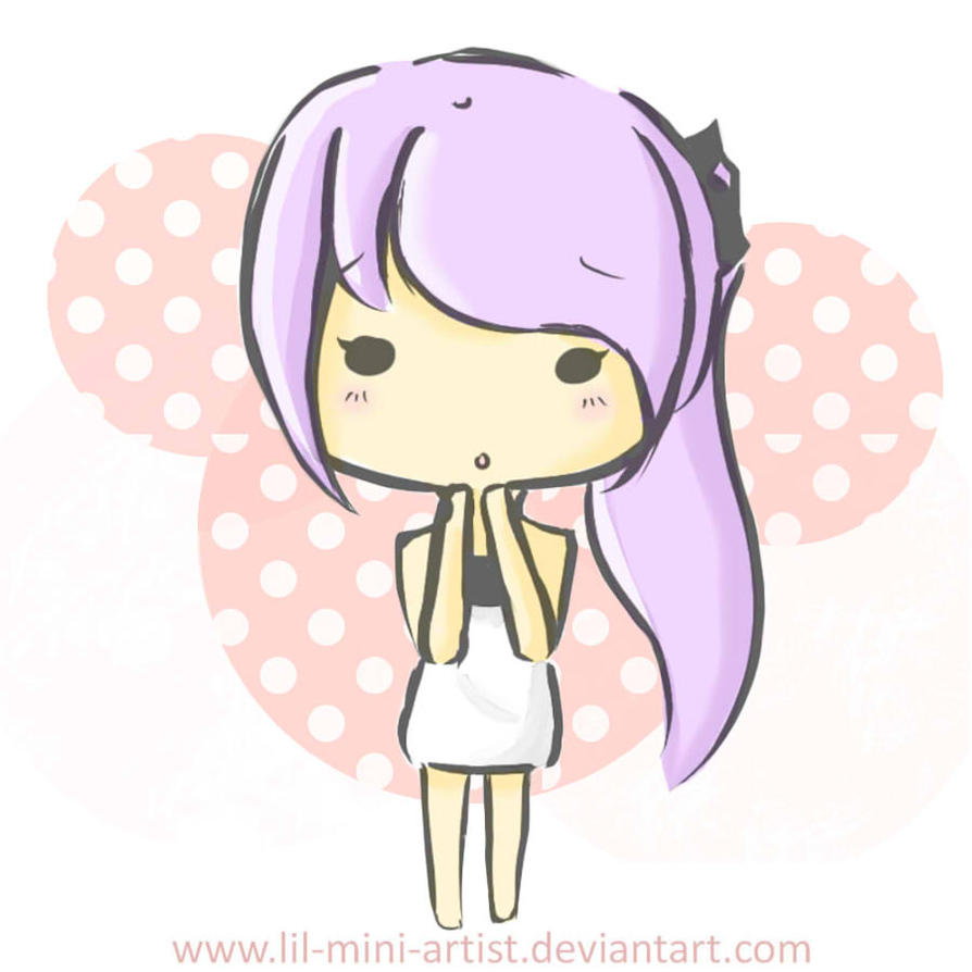 Chibi new style by chuubibii on deviantart for Modern drawing styles