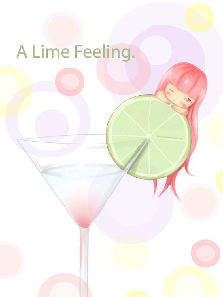 A Lime Feeling. by lil-mini-artist