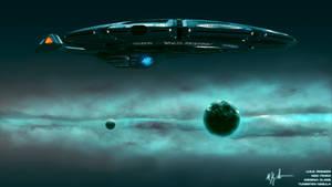 Insignia Class in Nebula