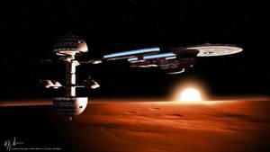 Orbiting Utopia Planitia