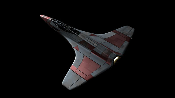 Starfighter concept-3 by MarkKingsnorth